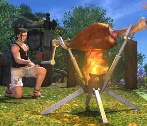 肉焼きセット(庭具)