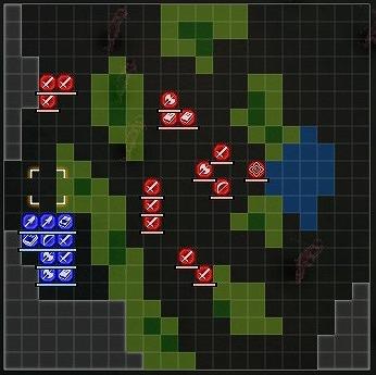 台地の掃討戦ハードマップ