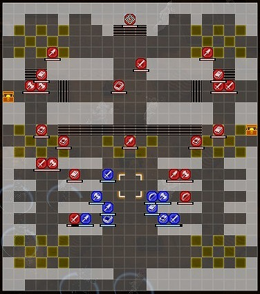 FE風花雪月女神再誕の儀襲撃戦マップ01