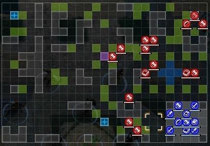 FE風花雪月王国領の掃討戦ハードマップ01