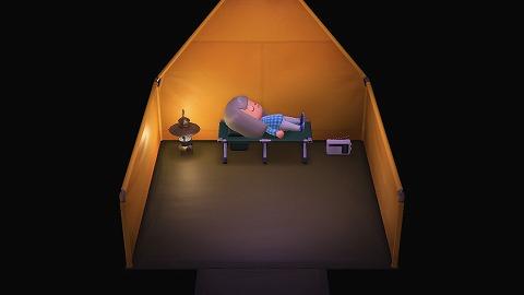 あつ森キャンプベッド