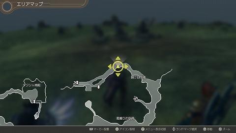 ゼノブレイドDEターキン族の大老勲章場所