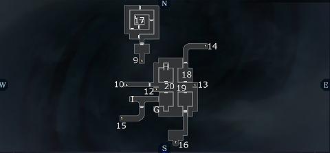 真女神転生3第二カルパB2Fマップ