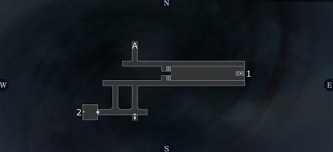 真女神転生3イケブクロ坑道B2Fマップ