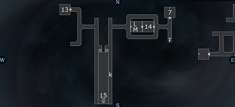 真女神転生3イケブクロ坑道B2Fマップ2