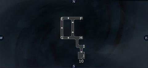 真女神転生3イケブクロ坑道B5Fマップ