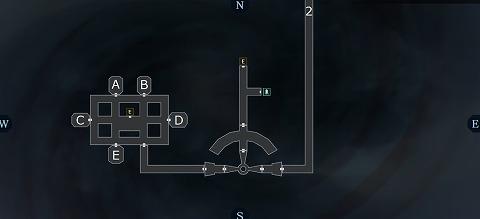 真女神転生3ニヒロ機構第二エントランスB15Fマップ