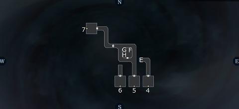 真女神転生3アサクサ坑道B3Fマップ