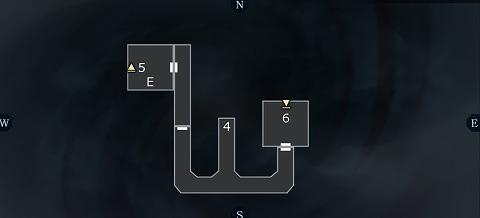 真女神転生3ユウラクチョウ坑道B3Fマップ01
