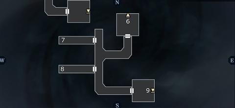 真女神転生3ユウラクチョウ坑道B4Fマップ01