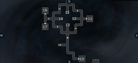 真女神転生3ユウラクチョウ坑道B4Fマップ02