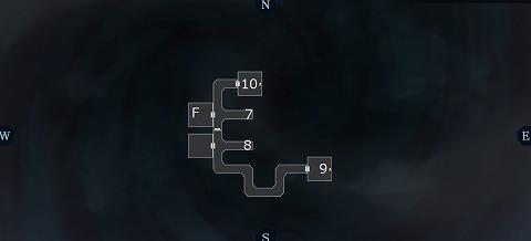 真女神転生3ユウラクチョウ坑道B5Fマップ01