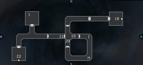 真女神転生3ユウラクチョウ坑道B6Fマップ