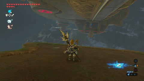 ゼルダの伝説BotW神獣ヴァ・メドー左翼外部