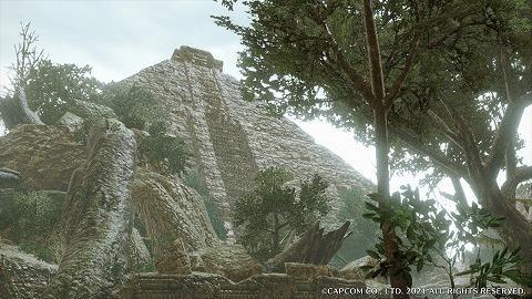 モンハンライズ水没林のピラミッド